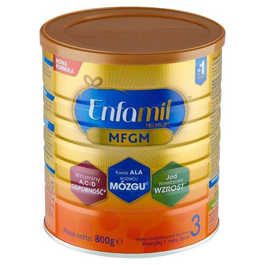 Enfamil Premium 3 Mleko modyfikowane dla dzieci powyżej 1. roku życia 800 g