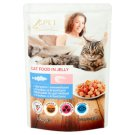 Tesco Pet Specialist Food for Adult Cats with Cod and Shrimps in Jelly 100 g