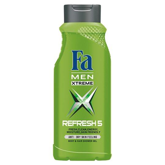 Fa Men Xtreme Refresh 5 Żel pod prysznic 400 ml