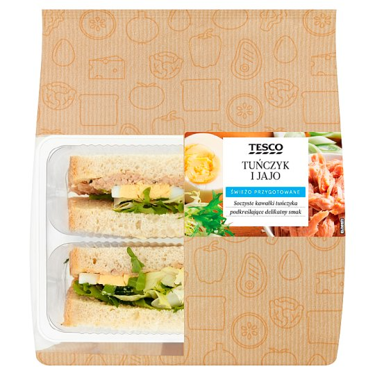 Tesco Kanapka tuńczyk i jajo 158 g