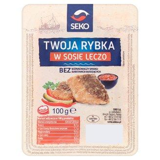 Seko Twoja rybka w sosie leczo 100 g