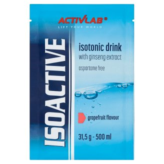 Activlab Isoactive Grapefruit Flavour Instant Isotonic Drink Concentrate 31.5 g