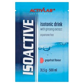Activlab Isoactive Napój izotoniczny instant z dodatkiem żeń-szenia o smaku grejpfrutowym 31,5 g