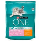 PURINA ONE Junior Complete Food for Kittens with Chicken and Whole Grains 800 g