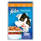 Felix Fantastic Karma dla dorosłych kotów z kurczakiem i pomidorami w galaretce 100 g