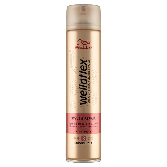 Wella Wellaflex Strong Hold Hairspray 250 ml
