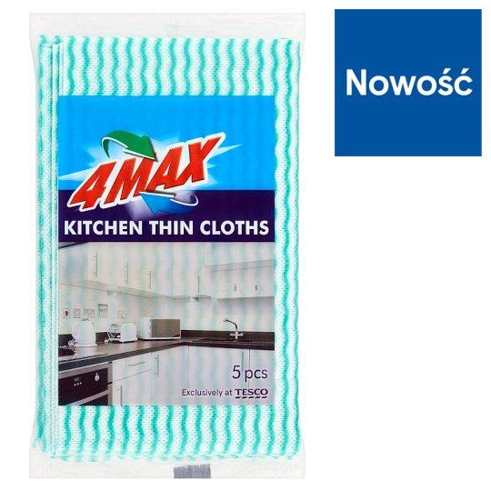 4MAX Kitchen Thin Cloths 5 Pieces