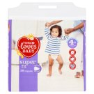 Tesco Loves Baby Super Fit Pieluszki jednorazowe 4+ maxi+ 9-20 kg 38 sztuk