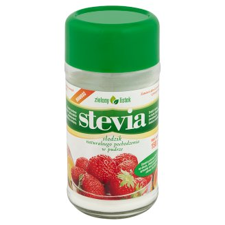 Zielony listek Stevia Natural Sweetener Powder 150 g