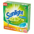 Sunlight All in 1 Citrus Fresh Tabletki do zmywarki 840 g (48 sztuk)