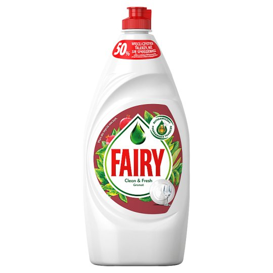 Fairy Pomegranate Płyn do mycia naczyń 900 ml