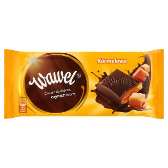 Wawel Caramel Filling Dark Chocolate 100 g