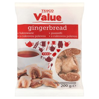 Tesco Value Icing Gingerbread 200 g