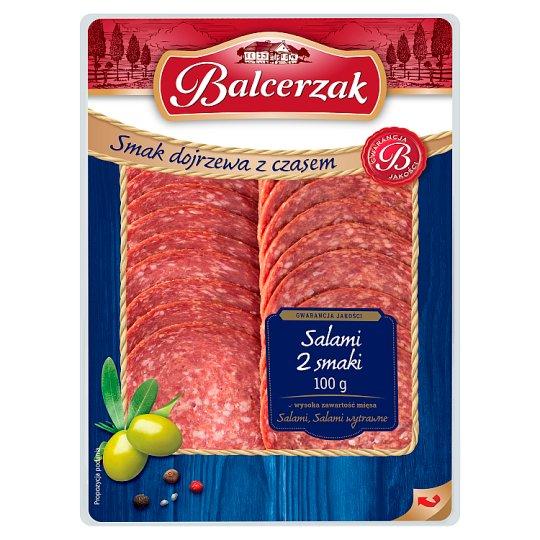 Balcerzak Salami 2 smaki 100 g