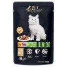 Tesco Pet Specialist Premium Karma dla młodych kotów z kurczakiem i indykiem w sosie 85 g