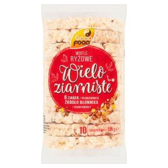 Good Food Wafle ryżowe wieloziarniste 100 g (10 sztuk)