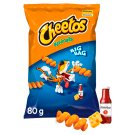 Cheetos Spirals Cheese and Ketchup Flavour Corn Snacks 80 g