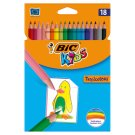 Bic Kids Tropicolors 2 Colouring Pencils 18 Colours