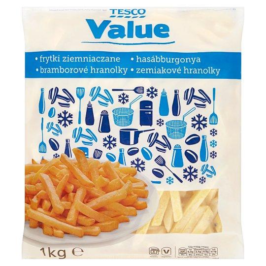 Tesco Value Straight French Fries 1 kg