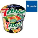 Bakoma 7 zbóż men Yoghurt with Peach Pear and Cereal 300 g