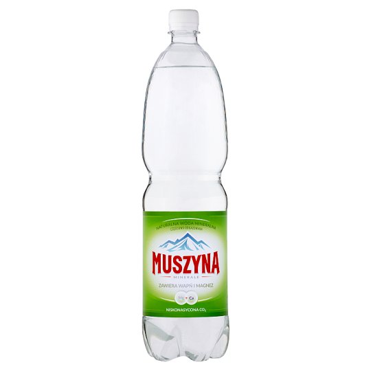 Muszyna Minerale Low Sparkling Natural Mineral Water 1.5 L