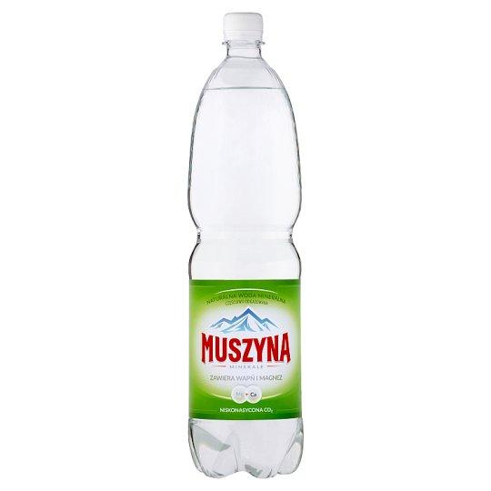Muszyna Minerale Naturalna woda mineralna niskonasycona CO2 1,5 l