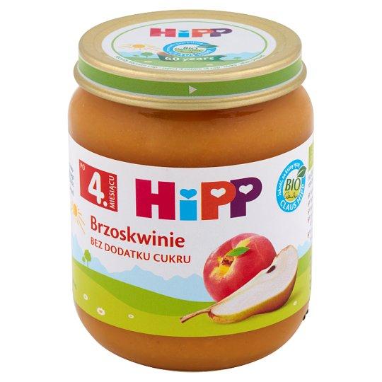 HiPP BIO Brzoskwinie po 4. miesiącu 125 g