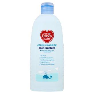 Tesco Loves Baby Gentle Cleansing Bath Bubbles 500 ml