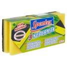 Spontex Supermax Poręczne gąbki do czyszczenia 3 sztuki