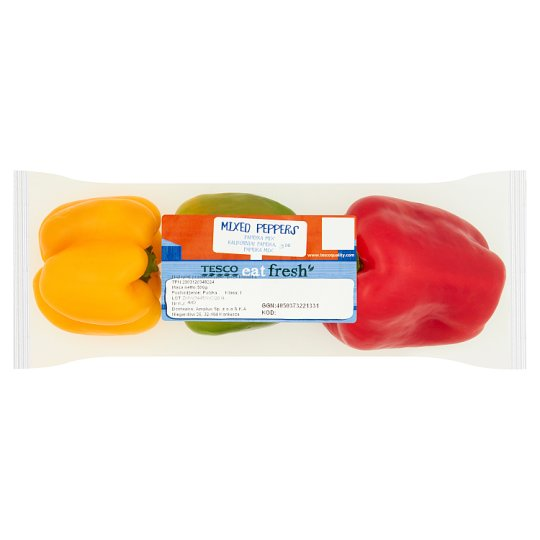 Tesco Mixed Peppers 500 g