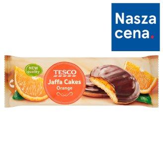 Tesco Jaffa Cakes Biszkopty z galaretką pomarańczową w czekoladzie 150 g