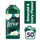 Lenor Emerald & Ivory Flower Płyn do płukania tkanin 50 prań