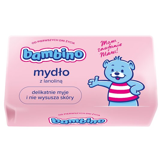 Bambino Soap Bar with Lanolin for Kids 90 g