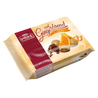 Lambertz Gingerbread with Icing Chocolate and Orange Peel 200 g