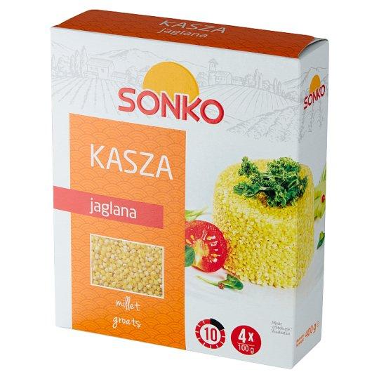 Risana Kasza jaglana 400 g (4 torebki)