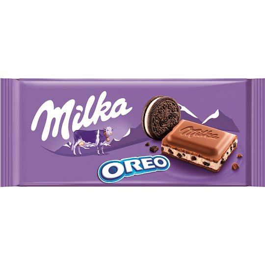 Milka Milk Chocolate Oreo 100 g
