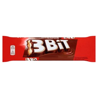 3Bit Chocolate Bar with Milk Filling and Biscuit 46 g
