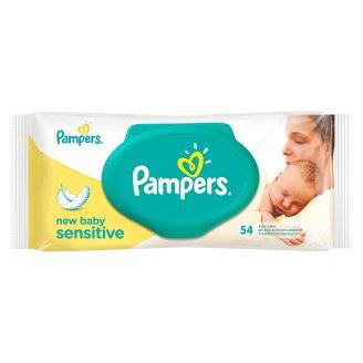 Pampers New Baby Sensitive Chusteczki dla niemowląt 54 sztuki