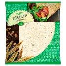 Tesco Tortilla Placki pszenne z otrębami pszennymi i siemieniem lnianym 250 g (4 x 62,5 g)