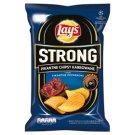 Lay's Strong Pikantne chipsy karbowane o smaku pikantne pepperoni 150 g