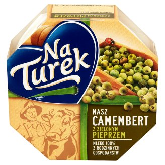 NaTurek Nasz Camembert with Green Pepper Cheese 120 g