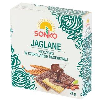 Sonko Millet Bread with Dessert Chocolate 72 g