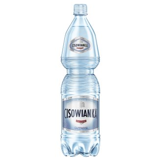 Cisowianka Natural Mineral Low-Sodium Sparkling Water 1.5 L