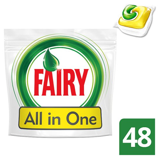 Fairy Original All In One Lemon Tabletki do zmywarki 48 sztuk