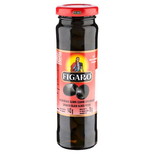 Figaro Pitted Spanish Black Olives 142 g