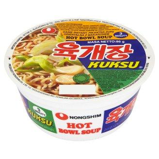 Nong Shim Kuksu Hot Pikantna zupa orientalna z makaronem 86 g