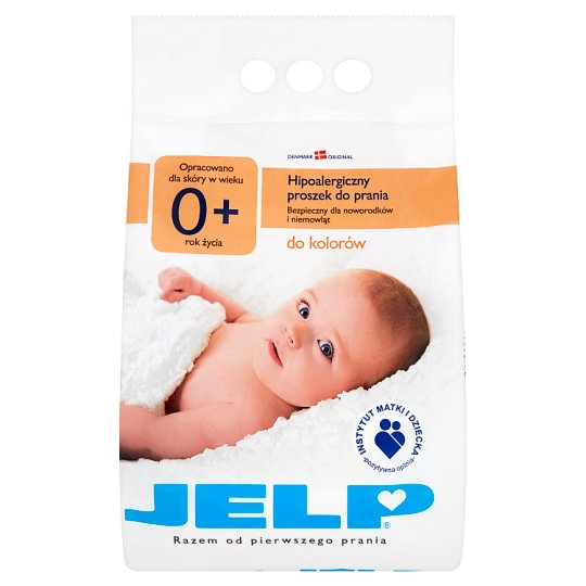 JELP 0+ Color Hypoallergenic Washing Powder 2.24 kg (28 Watches)