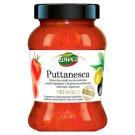 Łowicz Premium Puttanesca Klasyczny włoski sos pomidorowy do makaronu o smaku łagodnym 415 g
