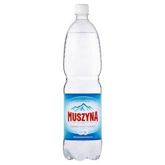 Muszyna Minerale Naturalna woda mineralna średnionasycona CO2 1,5 l