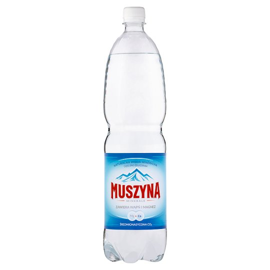 Muszyna Minerale Medium Sparkling Natural Mineral Water 1.5 L